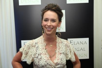 Jennifer Love Hewitt Wearing Elana Sigal Jewelry Design