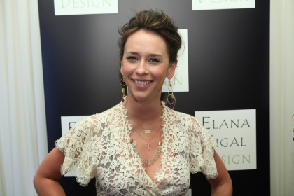Jennifer Love Hewitt Wearing Elana Sigal Jewelry Design