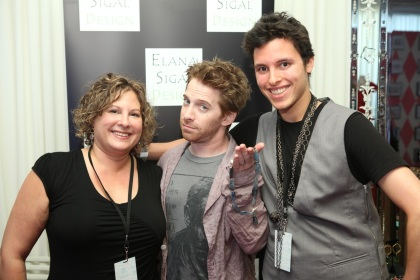 Elana (mother), Seth Green and Me hooking him up with Elana Sigal Jewelry Design for his Wife!